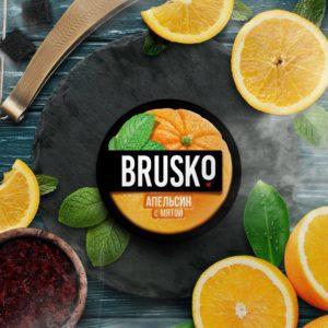 Brusko Апельсин С Мятой 50 гр