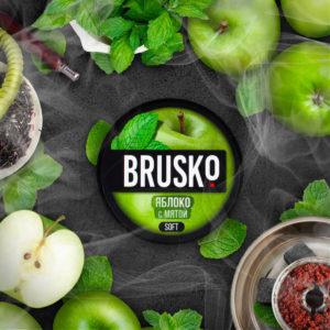 Brusko Яблоко с мятой 50 гр